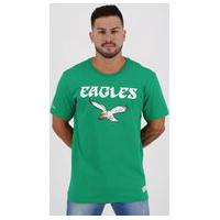 Camiseta Mitchell Ness Nfl Philadelphia Eagles Verde
