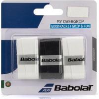 Overgrip My Overgrip X3 Babolat - Preto/Branco - Unissex