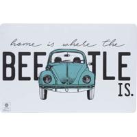 Jogo Americano Vw The Beetle Branco E Verde Unitário