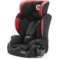 Cadeira Para Auto Weego 9-36 Kg - Unissex-Preto+Vermelho