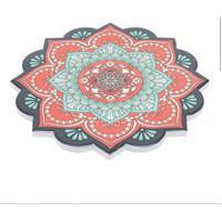 Descanso De Panela Flor Colorido 0,8X20X20