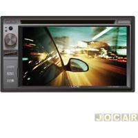 "Dvd Player - Ucb Connect - 2 Din/Touch/Mp3/Usb/Aux./Controle/Bluetooth/Tela 6,2"" - Cada (Unidade) - Dm362Bt"