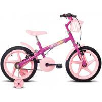 Bicicleta Infantil Aro 16 Verden Bikes Fofys - Feminino