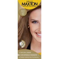 Tintura Maxton Creme 8.0 Louro Claro 50 G