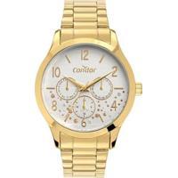 Relógio Condor Feminino Analógico - Feminino-Dourado