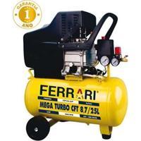 Compressor De Ar Mega Turbo Ferrari Cft-8.7/25L Bivolt – 1500W