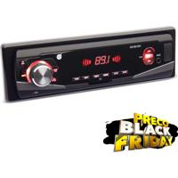 Mp3 Player Automotivo Dazz Com Bluetooth, Rádio Fm, Entrada Usb, Sd E Auxiliar Frontal - 651251Bt