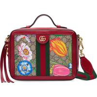 Gucci Bolsa Tiracolo Ophidia Gg Flora Pequena - Vermelho