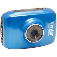 Câmera Filmadora De Ação Vivitar Hd Com Caixa Estanque, Azul - Dvr785Hd
