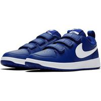 Tênis Infantil Nike Pico Velcro - Masculino-Azul Royal+Branco