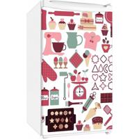 Adesivo Sunset Adesivos De Frigobar Envelopamento Porta Cozinha