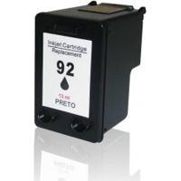 Cartucho Compatível Hp 92 Black - Hp 1510C C3180 C4180 C9362W Com 13Ml