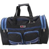 Bolsa Sacola De Viagem Média - Yins - Sv0222 - Azul