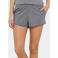 Short Fila Speed Ns Feminino - Feminino-Cinza