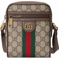 Gucci Bolsa Tiracolo Ophidia Gg - Marrom