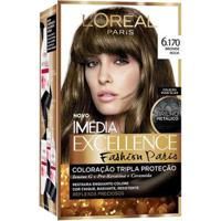 Coloração Imédia Excellence L'Oréal Paris - Fashion Paris 6.170 Bronde Rock - Unissex-Incolor