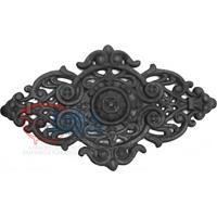Ornamentos Florões Em Ferro Fundido Decorada