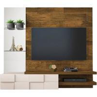 Home Suspenso Turim Para Tv De Até 55'' - 100% Mdf Espelhado - Demolição Com Off White