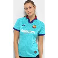 Camisa Barcelona Third 19/20 S/Nº Torcedor Nike Feminina - Feminino