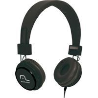 Fone De Ouvido C/ Microfone Headfun Preto - Multilaser