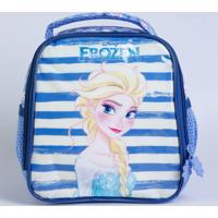 Lancheira Escolar Infantil Estampa Elsa Frozen Disney