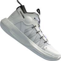 Tênis Cano Alto Nike Jordan Jumpman 2020 - Masculino - Branco/Prata