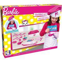 Conjunto De Acessórios - Barbie - Chef Mestre Cuca - Cotiplás