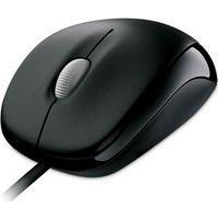 Mouse Óptico Microsoft U81-00010 Compact Wired 500 Usb Preto