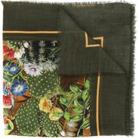 Dolce & Gabbana Echarpe Estampada - Verde