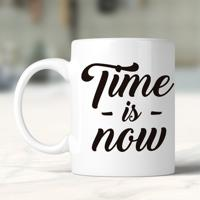 Caneca Time Is Now
