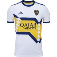 Camisa Boca Juniors Ii 20/21 Adidas - Masculina - Branco/Azul Esc