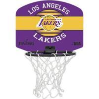 Tabela De Basquete Spalding Mini Lakers - Unissex