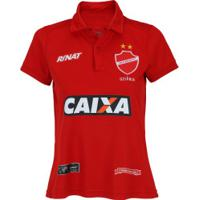 Camisa Do Vila Nova I 2017 Nº 10 Rinat - Feminina - Vermelho c11fbfadd95cc