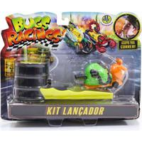 Veículo E Pista De Percurso - Bugs Racing - Lançador - Sluggy - Dtc