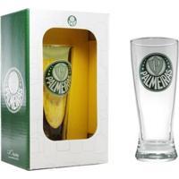 Copo Chopp Cerveja Palmeiras 300 Ml - Unissex