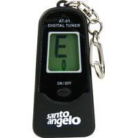Chaveiro Afinador Santo Angelo Cromatico At-01 Preto 3431