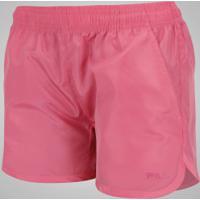 Shorts Fila Lyn - Feminino - Rosa