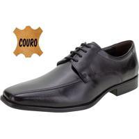 Sapato Masculino Social Democrata - 24410 Preto 01 37