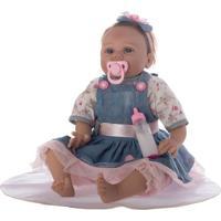 Boneca Laura Baby Lucy - Loiro & Azul- 39X16X13Cmshiny Toys