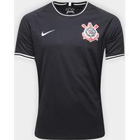 Camisa Corinthians Ii 19/20 S/Nº Torcedor Nike Masculina - Masculino