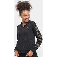 Jaqueta Adidas Essentials Feminina - Feminino-Preto