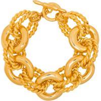 Kenneth Jay Lane Pulseira Dourada - Dourado