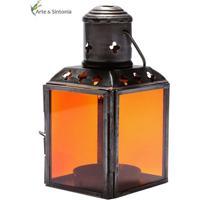 Lanterna Indiana Laranja 11Cm