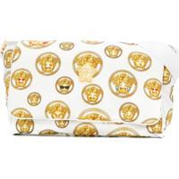 Young Versace Bolsa Maternidade Estampada - Branco