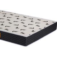 Colchão D20 Casal Pro Confort Liso 138X188X14 Cor Preto