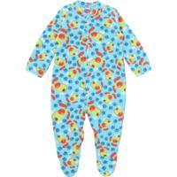 Pijama Tip Top Longo Menino Estampa Azul