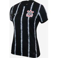 Camisa Nike Corinthians Ii 2021/22 Torcedora Pro Feminina