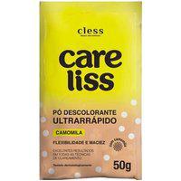 Pó Descolorante Care Liss Cless Ultrarrápido Camomila 50G