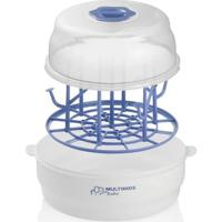Esterilizador De Mamadeiras À Vapor E Pinça - Clean Dry - Multikids Baby