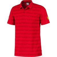 Camisa Polo Puma Scuderia Ferrari Aop Masculina - Masculino